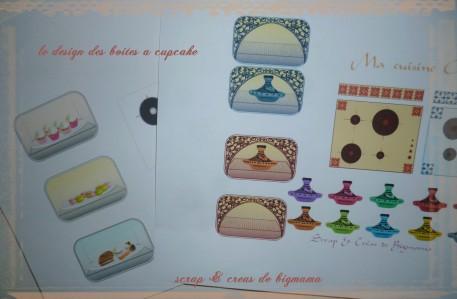 design boite a cupcake